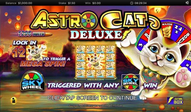 Astro Cat Deluxe screenshot
