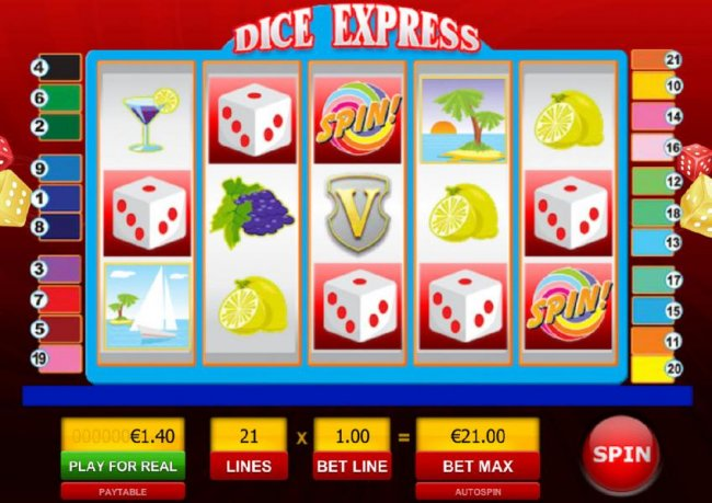 Dice Express by Free Slots 247