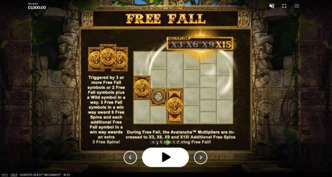 Free Falls by Free Slots 247