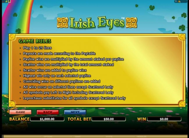 game rules by Free Slots 247