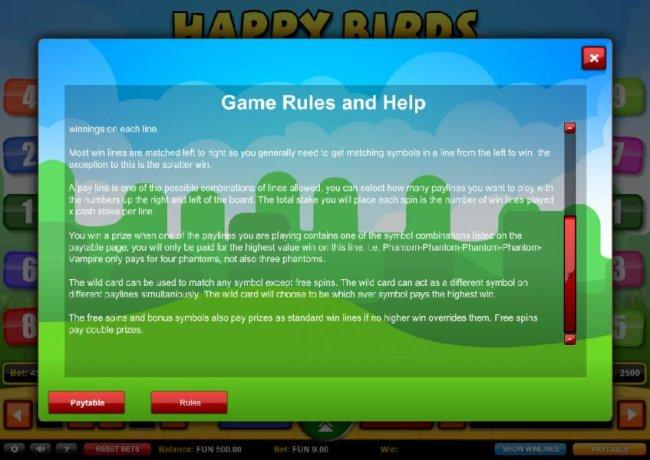 Free Slots 247 image of Happy Birds