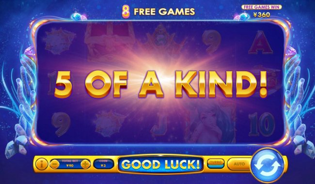 A winning Five of a Kind by Free Slots 247