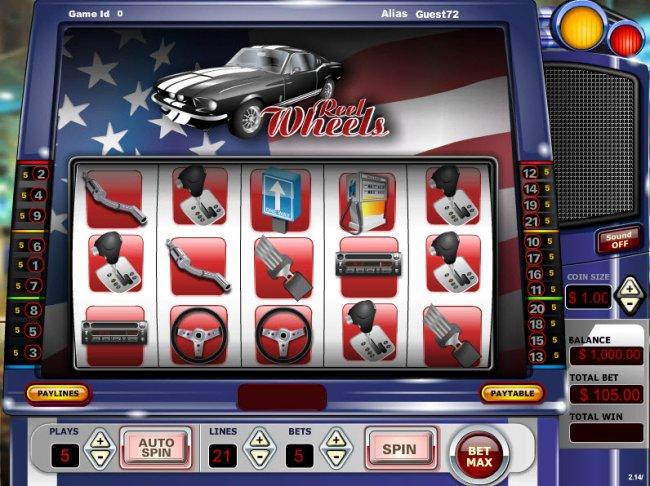 Reel Wheels by Free Slots 247