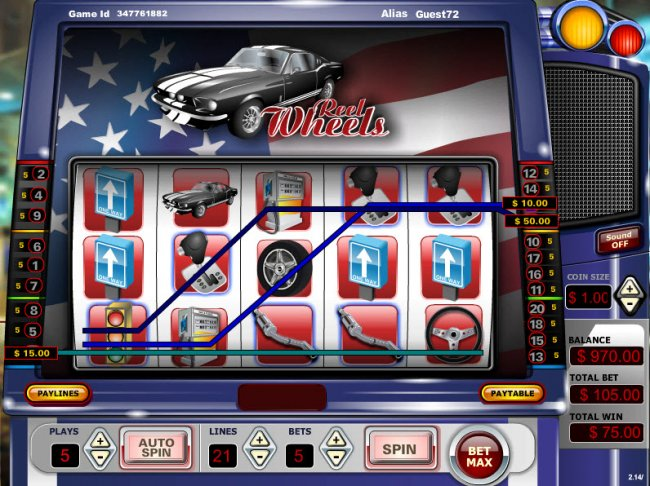 Free Slots 247 image of Reel Wheels