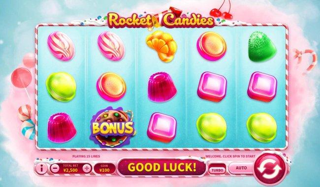 Rocket Candies by Free Slots 247