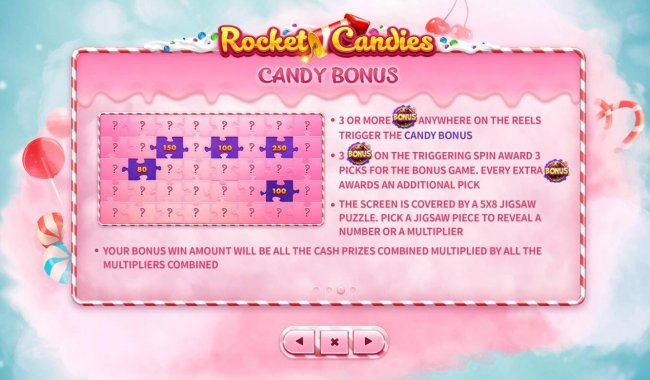 Candy Bonus Rules by Free Slots 247