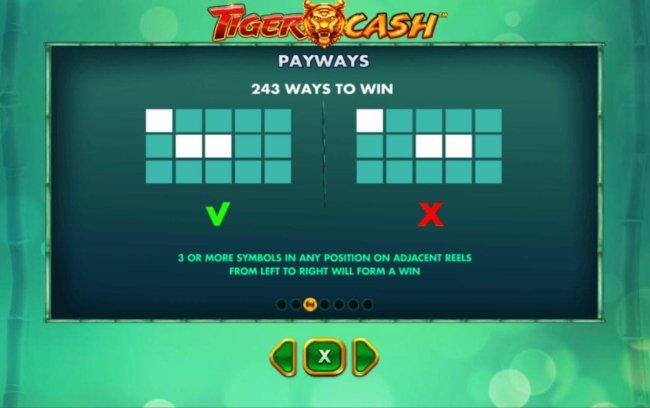 Tiger Cash screenshot