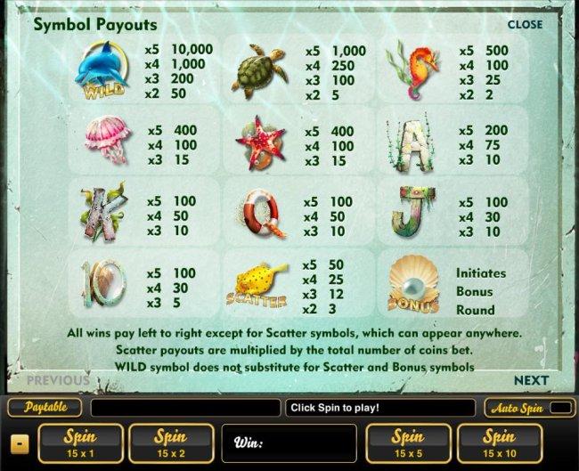 Wonders of the Deep by Free Slots 247