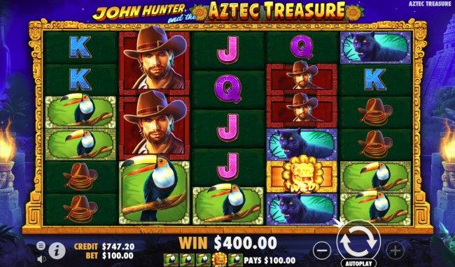 John Hunter and the Aztec Treasure by Free Slots 247