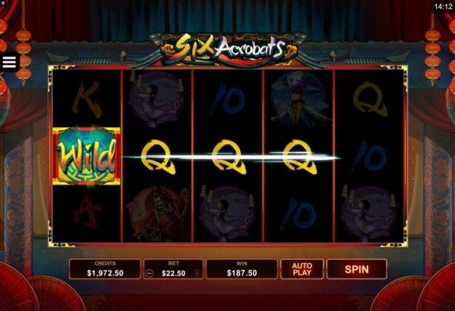 Six Acrobats screenshot
