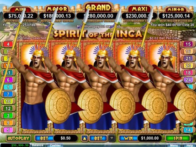 Free Slots 247 - Spirit of the Inca