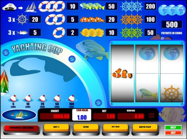 Yachting Cup by Free Slots 247