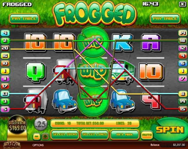 Frogged up slot machine online, free game