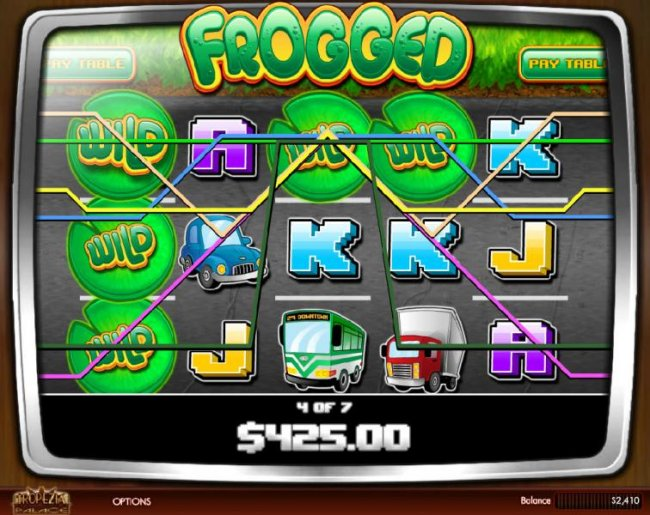 Free Slots 247 image of Frogged