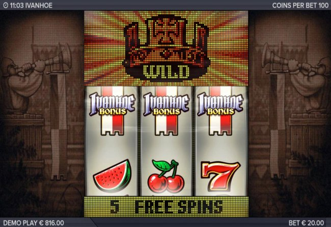 Landing the Bonus symbol on a payline triggers the free games feature. by Free Slots 247