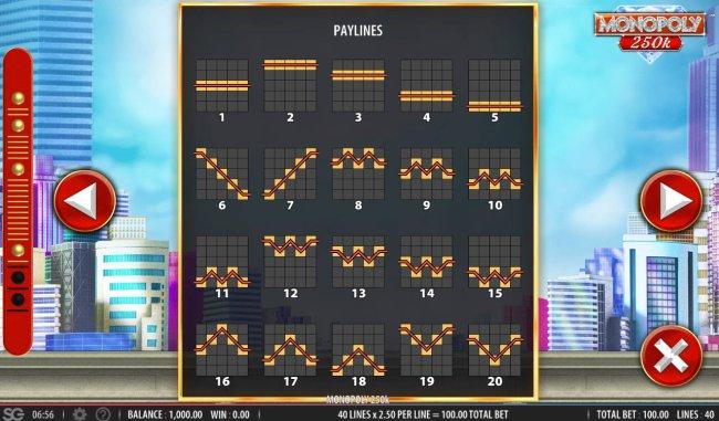 Monopoly 250k by Free Slots 247