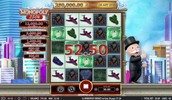 Monopoly 250k screenshot