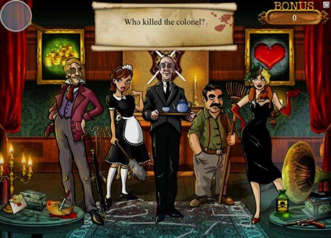 Mystery At The Mansion by Free Slots 247