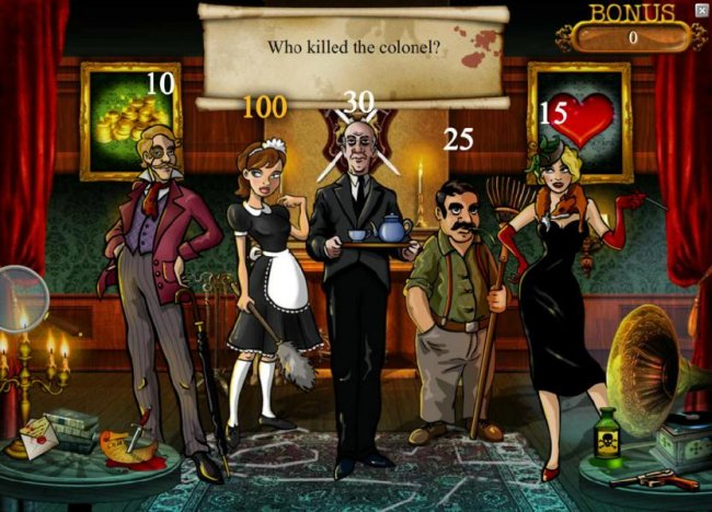 by picking the maid we earned a 100 coin award - Free Slots 247