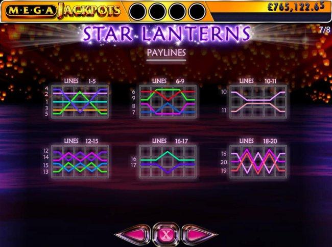 Star Lanterns Mega Jackpots screenshot