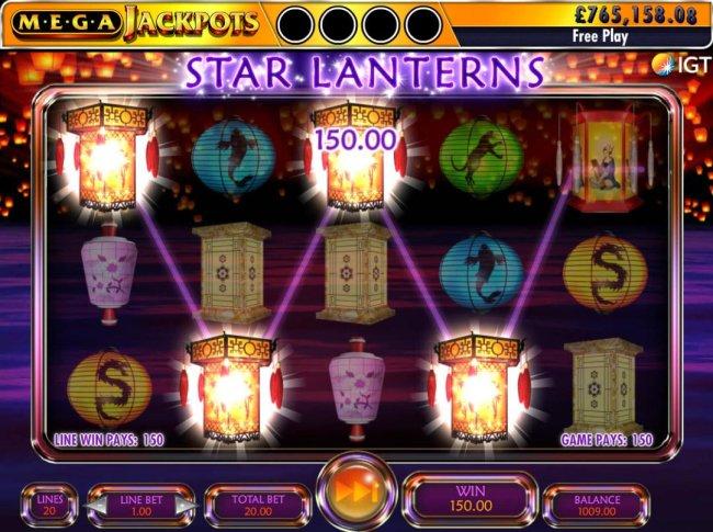 Images of Star Lanterns Mega Jackpots