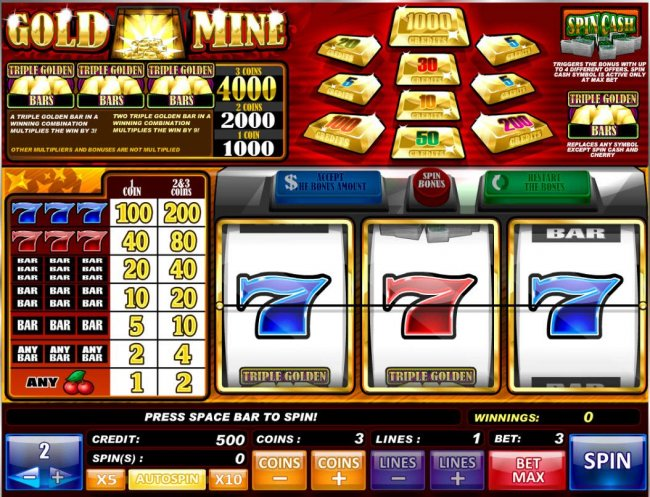 Gold Mine by Free Slots 247