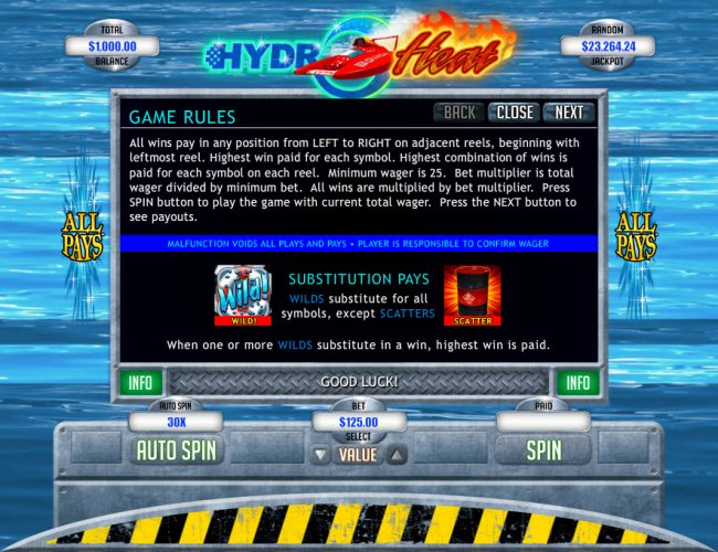 Free Slots 247 - Wild and Scatter Symbol Rules