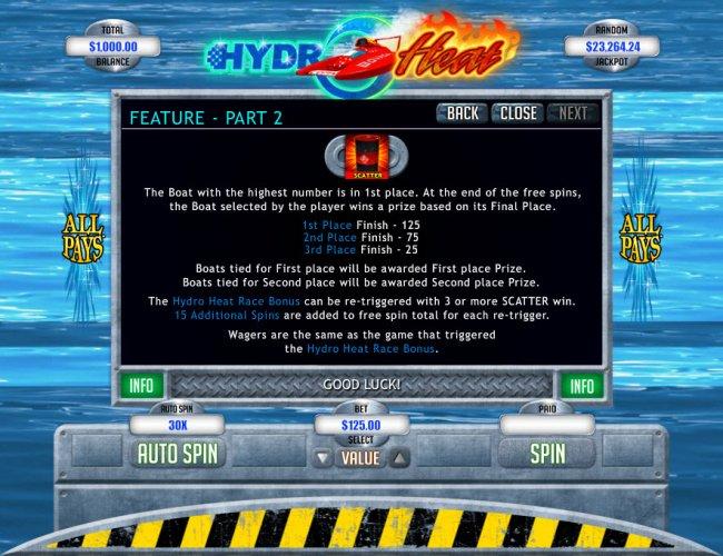Hydro Heat screenshot