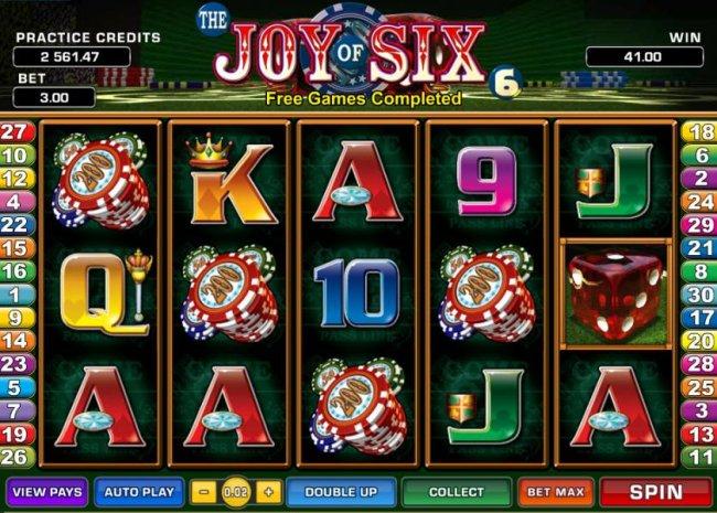 Free Slots 247 image of Joy of Six