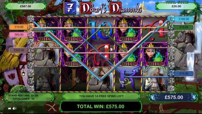 7 Dwarf's Diamonds by Free Slots 247