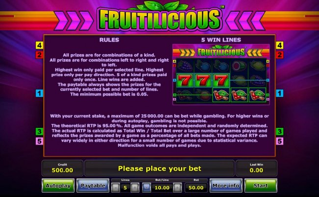 Fruitilicious screenshot