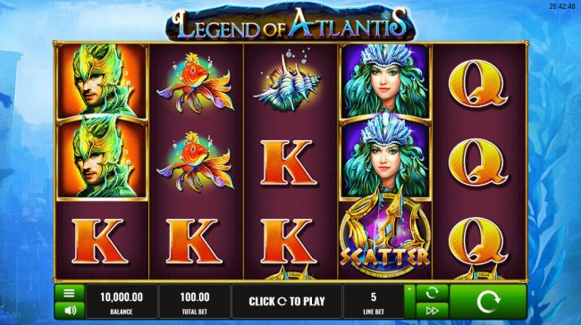 Legend of Atlantis by Free Slots 247
