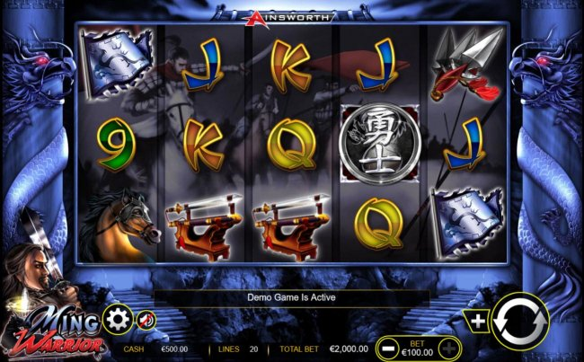 Main game board featuring five reels and 20 paylines with a $200,000 max payout. - Free Slots 247