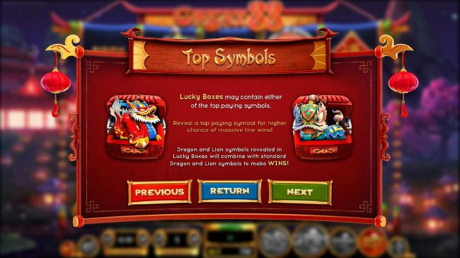 Top Symbols - Lucky Boxes may contain either of the Top paying symbols. - Free Slots 247