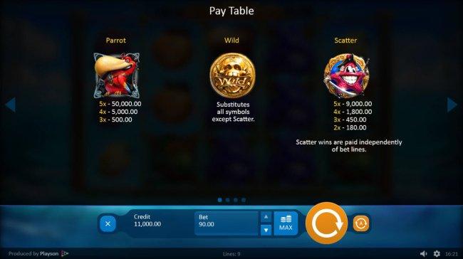 Lucky Pirates screenshot