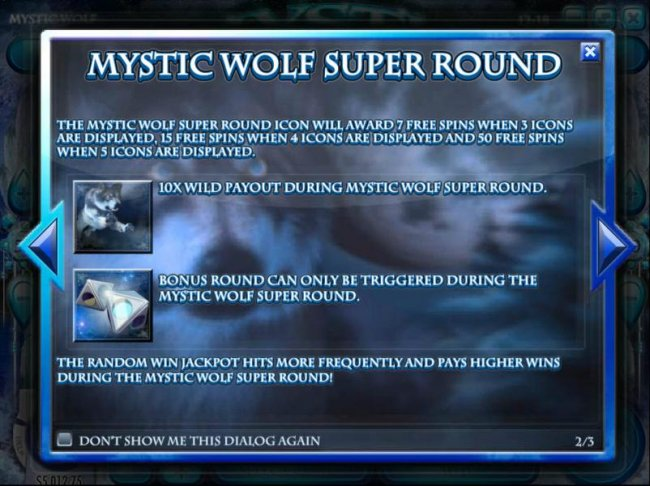 Mystic Wolf Super Round game rules by Free Slots 247
