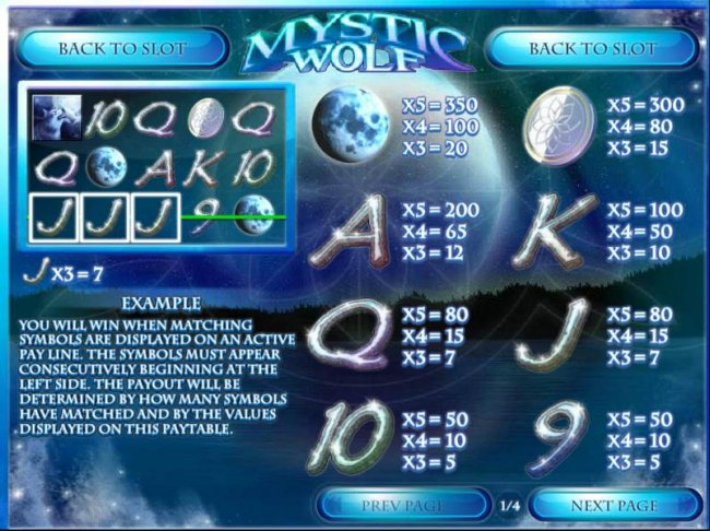 Mystic Wolf by Free Slots 247