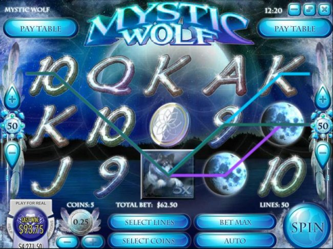 Mystic Wolf screenshot