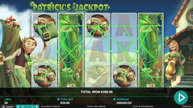 Patrick's Jackpot by Free Slots 247