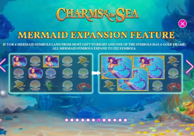 Mermaid Expansion Feature by Free Slots 247