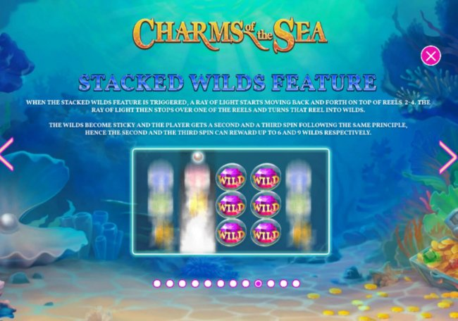 Free Slots 247 image of Charms of the Sea