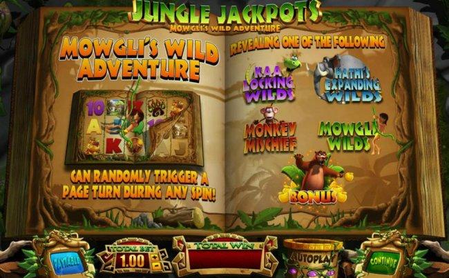 Jungle Jackpots Mowgli's Wild Adventure screenshot