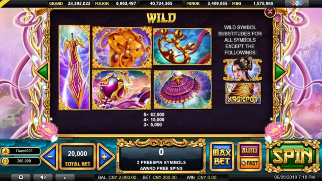 Free Slots 247 image of Sacred Relics