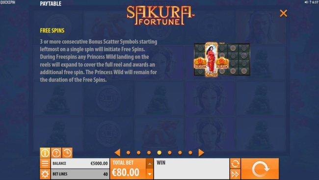 Sakura Fortune screenshot