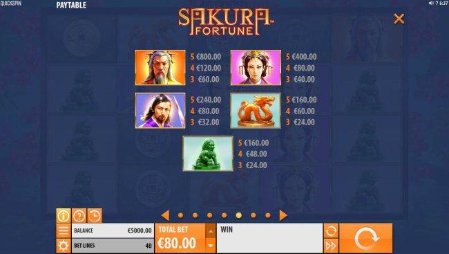 Free Slots 247 image of Sakura Fortune