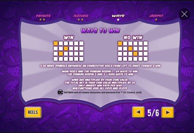Free Slots 247 image of Batman & The Penguin Prize