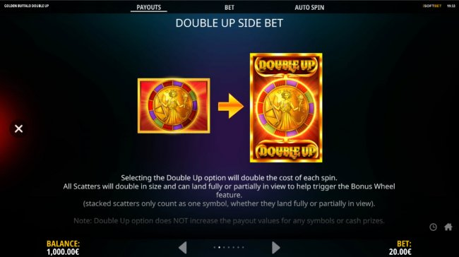 Free Slots 247 - Double Up Side Bet