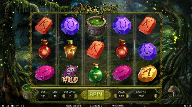 Bonus feature triggered - Free Slots 247