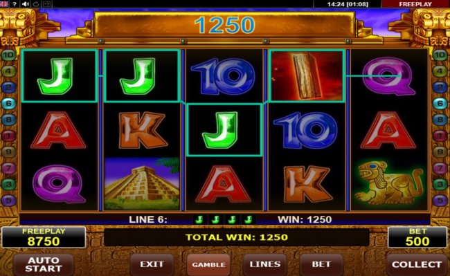 A winning Four of a Kind by Free Slots 247