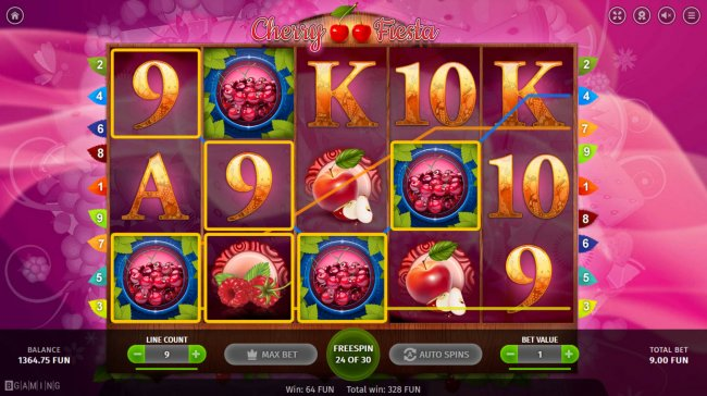 Cherry Fiesta by Free Slots 247